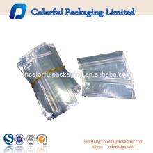 custom cute mini aluminum foil ziplock food bag 3 layer china