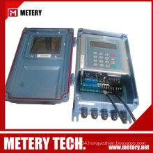 Clamp-On Ultrasonic Flow Meter Flow Sensor Metery Tech.China