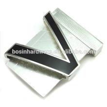 Moda de alta qualidade metal liga de zinco feito sob encomenda fivela de cinto