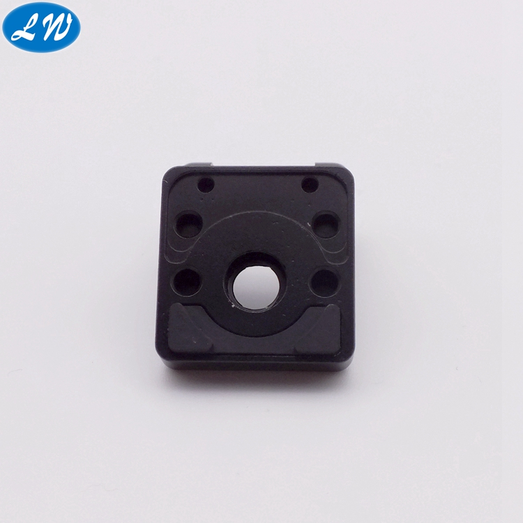 black anodized part