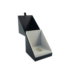 Black Custom Lighter Cardboard Candle dalam Gift Box