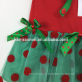 2017 kleine Mädchen Kleinkind Ziemlich Winter Urlaub Thema Outfit Rot Weiß Streifen 2 stück Tunika Legging Set Weihnachten Anzug