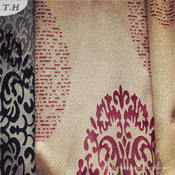 2016 100% Polyester Knitted Fabric Used for Curtains Specially with Elegant Pattern (FBC30003)