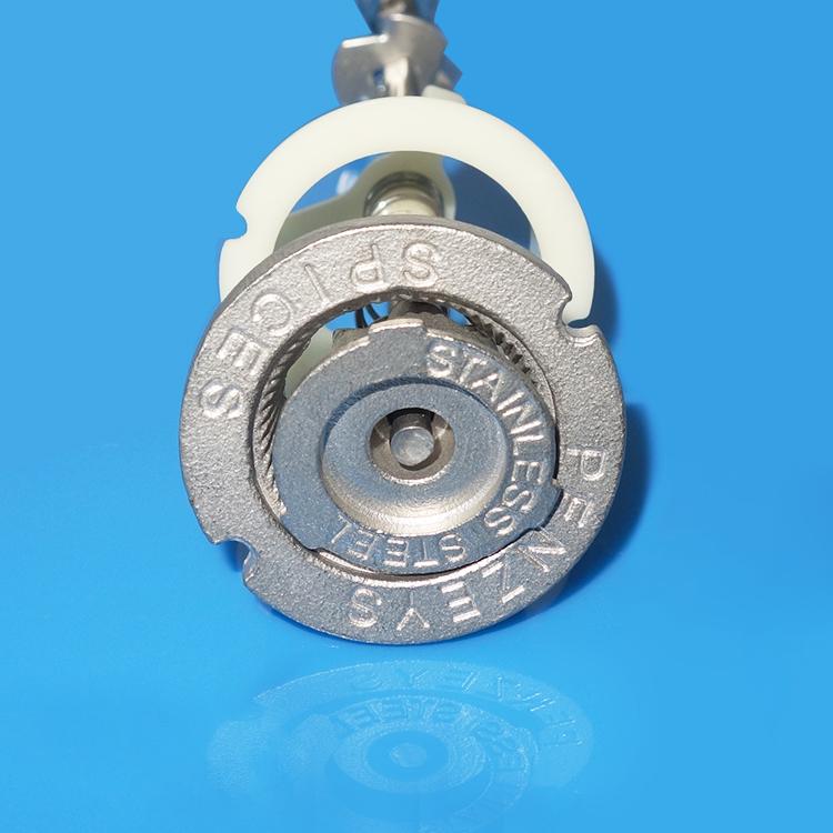 Pepper mill grinder mechanism