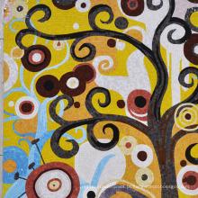 Mosaico de fotos de mosaico de mão cortada Mosaico de Bisazza