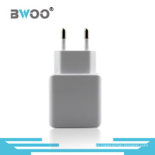 Dual Travel USB Wall Charger with EU Plug