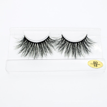 Mink 3D 5D 25mm Eyelash Packaging with Private Label Wholesale Mink Lashes