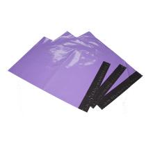 Sac de courrier coloré par cuatomized de LDPE avec le joint d'adhésif