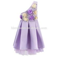 Vestido de partido del bebé de la venta caliente del vestido de fiesta del bebé de las muchachas de la venta caliente 2017 Vestido de Pari del vestido occidental para la niña