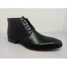 PU Leather Lace Mens Shoes Black NX 530