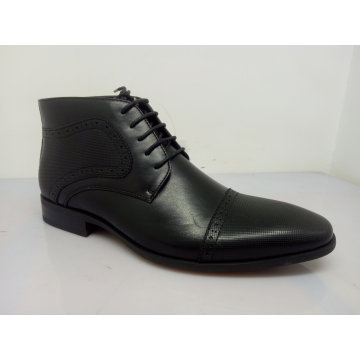 PU Leather Lace Mens Shoes Black NX 530