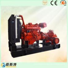 Chine Pompe à lisière à moteur diesel à démarrage électrique (20HP30HP40HP)