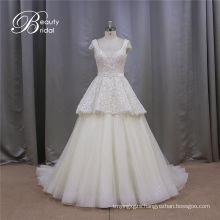 Shining Sequins Sweetheart Ivory Turkish Wedding Dresses