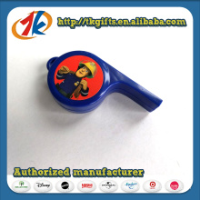 Promotional Plastic Cool Whistle Toy with Cheap Price