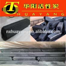 Mécanisme hexagonal charbon de bois / sciure de bois pour BBQ (temps de combustion 8500kcal / 3.5-5hs)