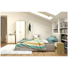 Новый дизайн спальни с отделкой в высоком блеске (HF-BL023)