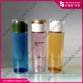 Round Coulor Cosmetic PET Plastic Bottle 200ml