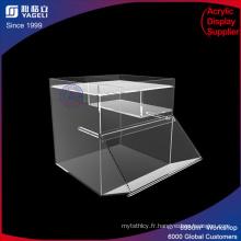 Ensemble de rangement acrylique empilable classique