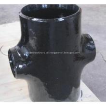 A234 WPB Carbon Stahl Kreuz T-Stück