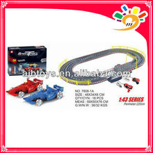 1 43 F1 railway car by hand 220cm long track toy car with hand generator