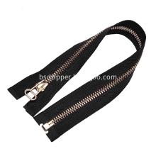 Brass No. 3 Open End Zipper for Garments