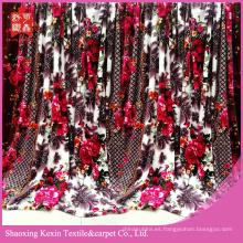 Prueba de AZO manta de vellón de franela de arco iris colorido saludable