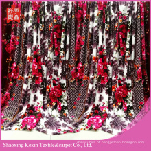 Flanela colorida saudável do arco-íris do teste cobertor de lã