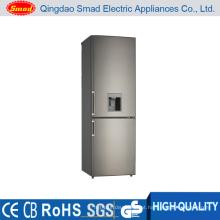 KD-315R casa geladeira porta dupla com dispensador de água