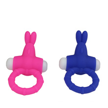 Männlicher Geschlechts-Hahn-Ring-Penis-vibrierender Ring (DYAST406)