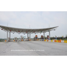 Professional Design High Strength Steel Frame Toll Station Gate