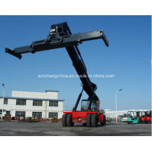 Empilhadeira do alcance da maquinaria da logística para 5 recipientes vazios Crs450abz5