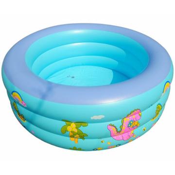 Piscina cuadrada grande para niños