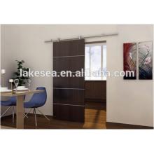 Wooden sliding door hardware/Elegant barn door tracks/Sliding door aluminium accessories(LS-RSP 001)