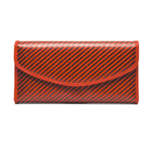OEM for Carbon Fiber Handbag Red kevlar women wallet export to India Wholesale