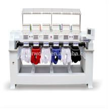 Máquinas usadas 4 cabeça 9/12 agulhas laser chinês máquina de bordar