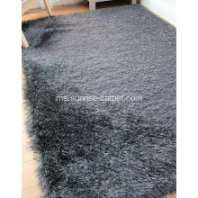 Polyester Two Benang Mix Shaggy Carpet
