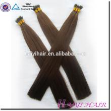Remy duplo desenhado completo termina preço de fábrica mini 30 polegada nano anel remy extensão do cabelo