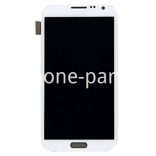 note 2 screen white