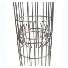 Claw joint round bag cages