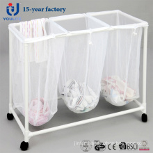 Three Box PVC Dirty Clothes Casket