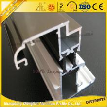 Extrusão de alumínio personalizada do perfil de separação de alumínio para o material de construção