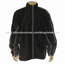 Men's casual jacket with various panel cut sewing, cotton+spandex fabric, eco-friendly fabric