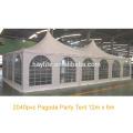 Grande tente de pagode extérieure de mariage de haute qualité