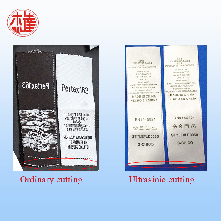 Ultrasonic Non Woven Label Cutter
