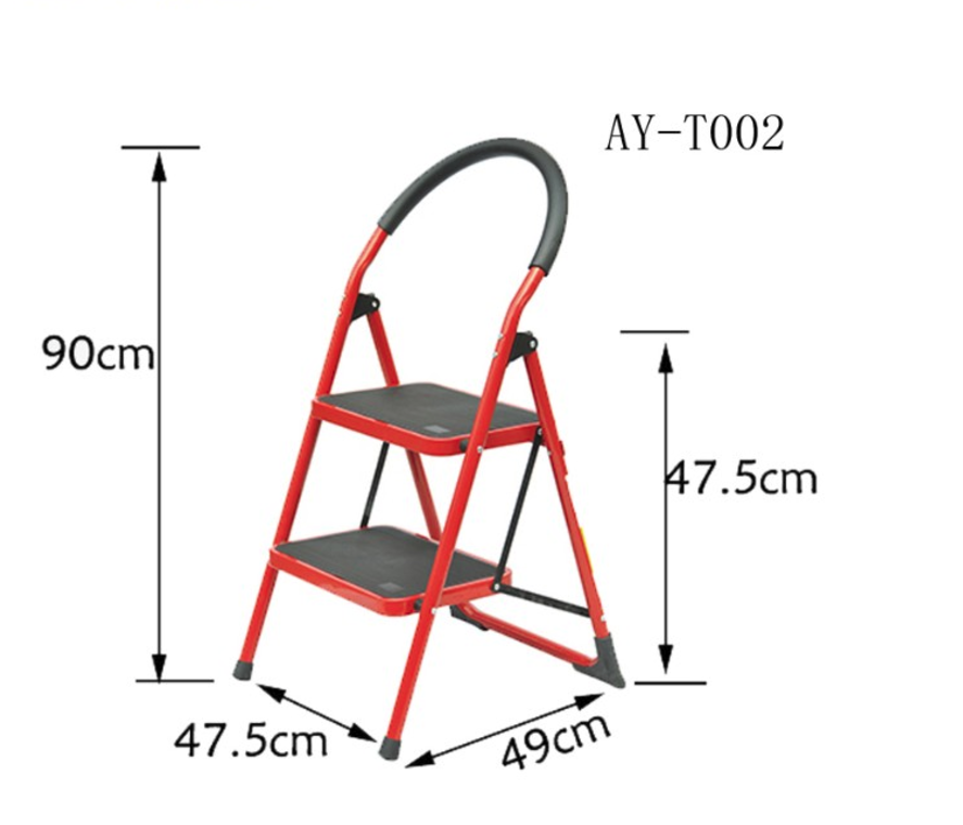 2 steps steel ladder
