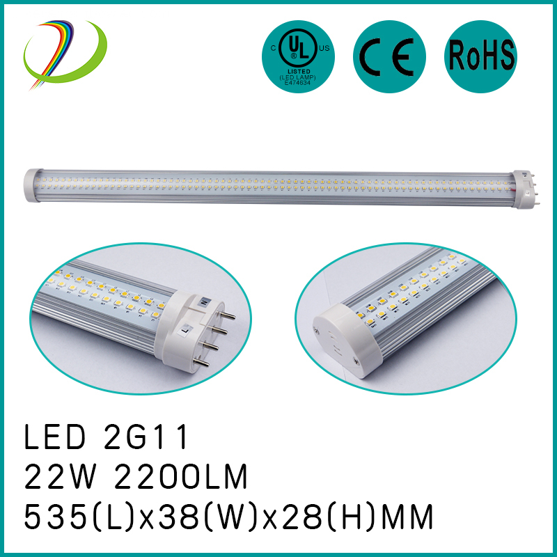 18W LED 2G11 Tube light