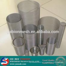 Alta qualidade 316, filtros de malha de aço inoxidável 316L na China