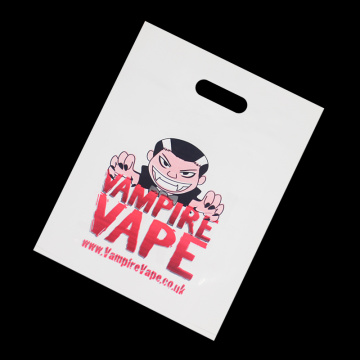 Gravure Printed Flexible Loop Plastic Bag