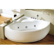 Shell Shape Simple Whirlpool Massage Bath Tubs