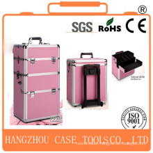 hair dressing make up trolley case,make up trolley case,aluminum make up trolley case